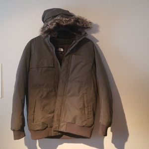 Mens NorthFace Jacket with Hood